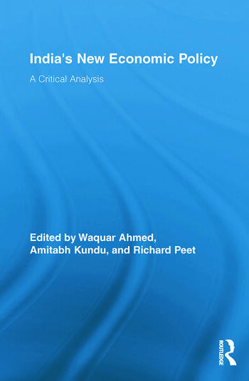 India's New Economic Policy A Critical Analysis book cover
