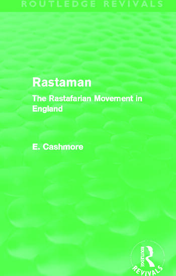 Rastaman (Routledge Revivals) The Rastafarian Movement in England book cover