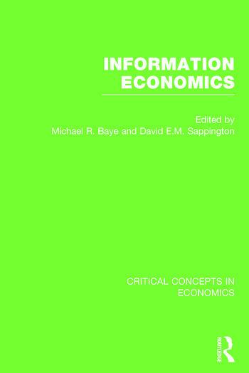 Information Economics book cover