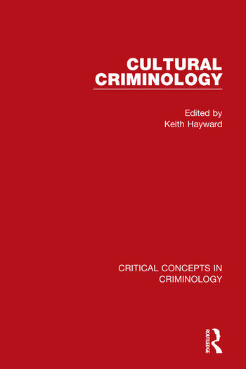 Cultural Criminology book cover