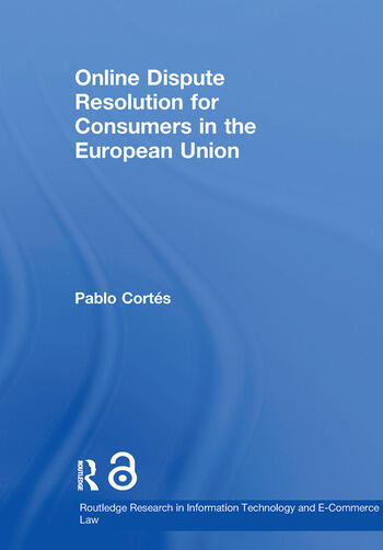 Online Dispute Resolution for Consumers in the European Union book cover