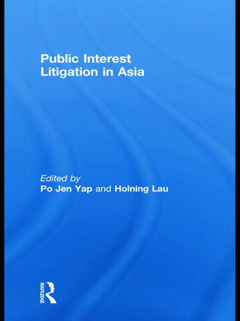 Public Interest Litigation in Asia book cover