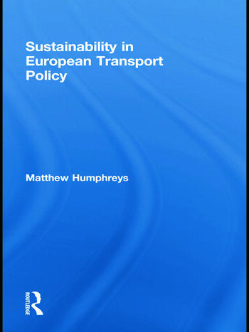 Sustainability in European Transport Policy book cover