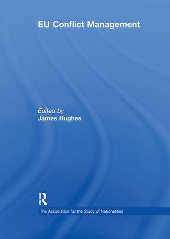 EU Conflict Management book cover