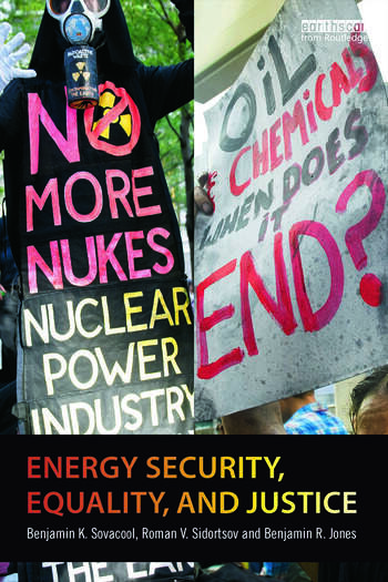 Energy Security, Equality and Justice book cover