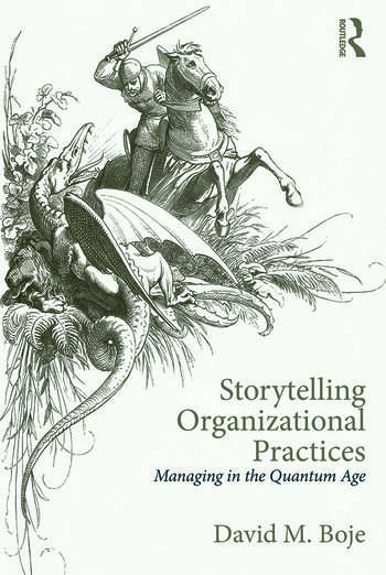 Storytelling Organizational Practices Managing in the quantum age book cover