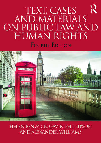 Text, Cases and Materials on Public Law and Human Rights book cover
