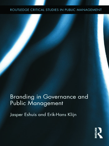Branding in Governance and Public Management book cover