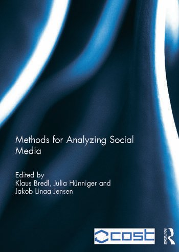 Methods for Analyzing Social Media book cover
