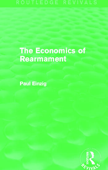 The Economics of Rearmament (Rev) book cover