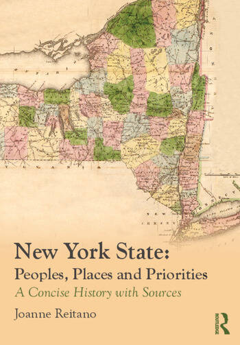 New York State: Peoples, Places, and Priorities A Concise History with Sources book cover