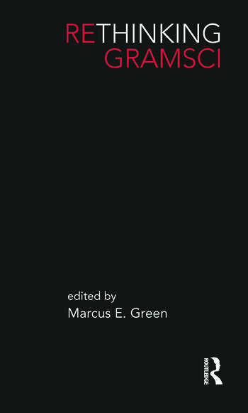 Rethinking Gramsci book cover