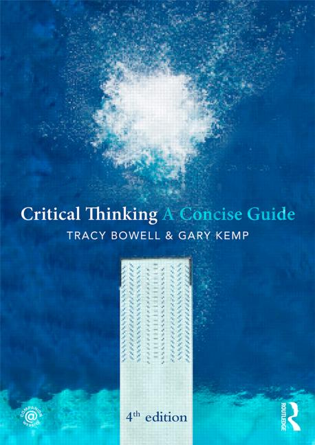 Critical Thinking A Concise Guide book cover