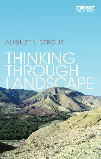 Thinking through Landscape book cover