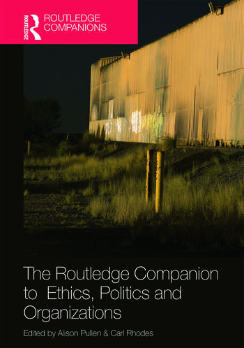 The Routledge Companion to Ethics, Politics and Organizations book cover