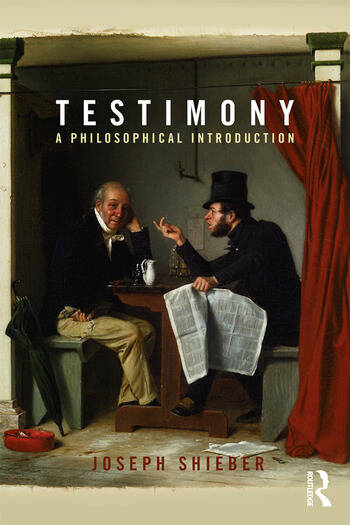 Testimony A Philosophical Introduction book cover