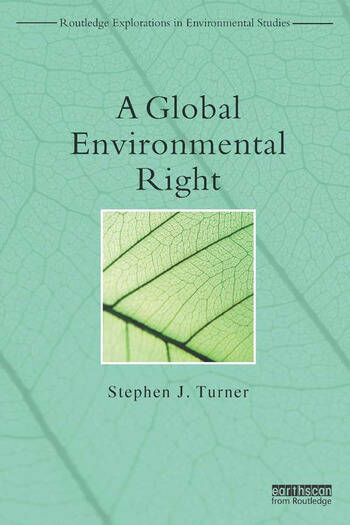A Global Environmental Right book cover