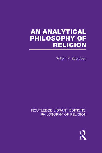 an analysis of philosophy in religion