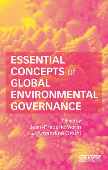 Essential Concepts of Global Environmental Governance book cover