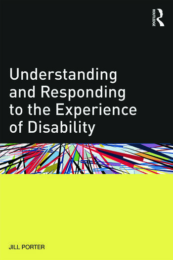 Understanding and Responding to the Experience of Disability book cover
