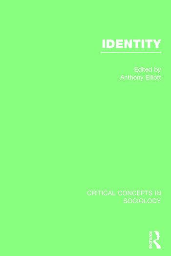 Identity, 4-vol. set book cover