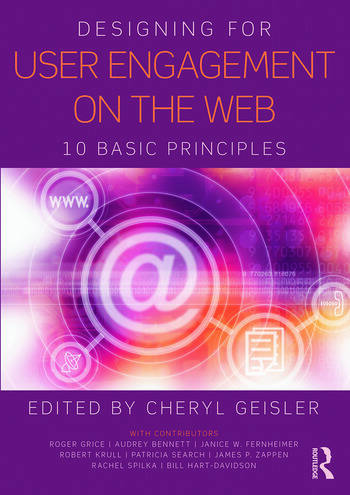 Designing for User Engagement on the Web 10 Basic Principles book cover