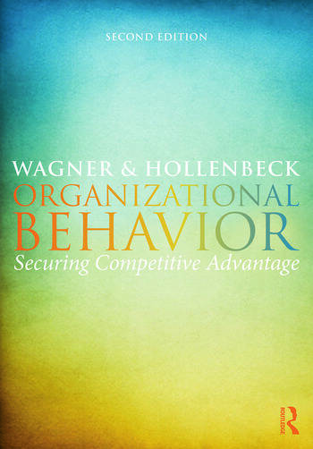 Organizational Behavior Securing Competitive Advantage book cover