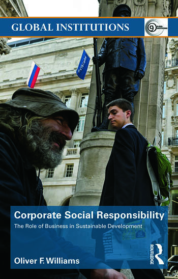 Corporate Social Responsibility The Role of Business in Sustainable Development book cover