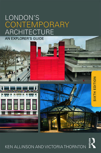 London's Contemporary Architecture An Explorer's Guide book cover