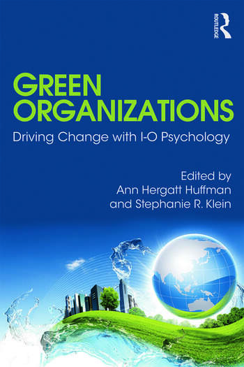 Green Organizations Driving Change with I-O Psychology book cover
