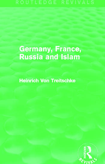 Germany, France, Russia and Islam (Routledge Revivals) book cover