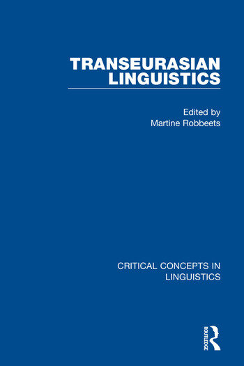 Transeurasian Linguistics book cover