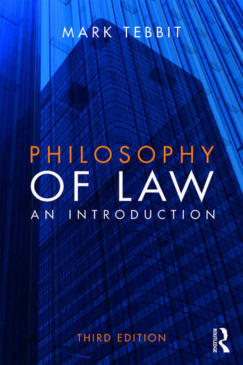 Philosophy of Law An Introduction book cover