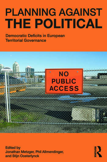 Planning Against the Political Democratic Deficits in European Territorial Governance book cover