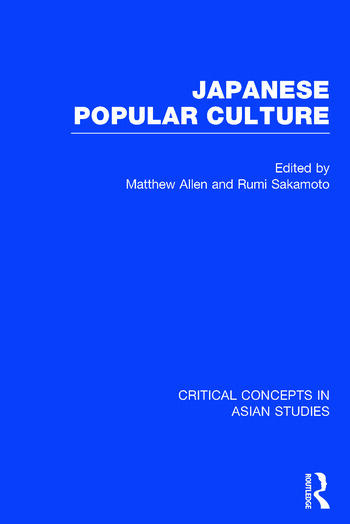 Japanese Popular Culture book cover