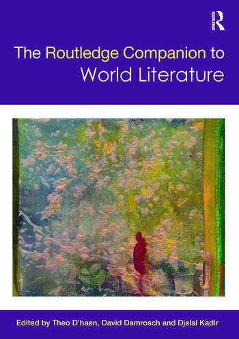 The Routledge Companion to World Literature book cover