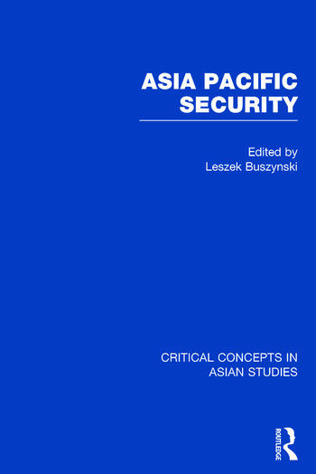 Asia Pacific Security book cover