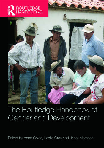 The Routledge Handbook of Gender and Development book cover