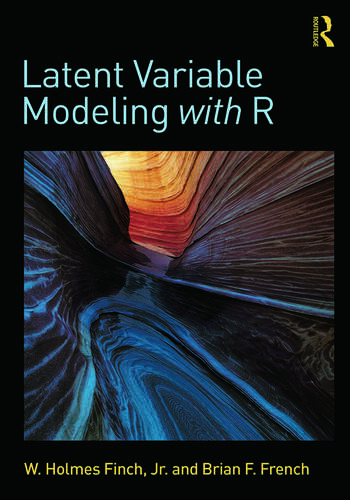 Latent Variable Modeling with R book cover