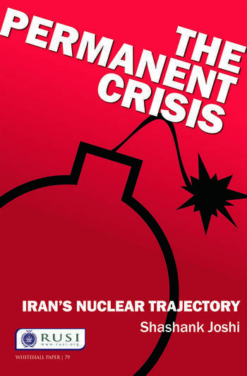 The Permanent Crisis Iran's Nuclear Trajectory book cover