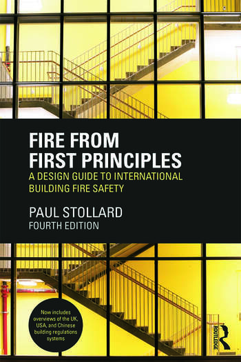 Fire from First Principles A Design Guide to International Building Fire Safety book cover