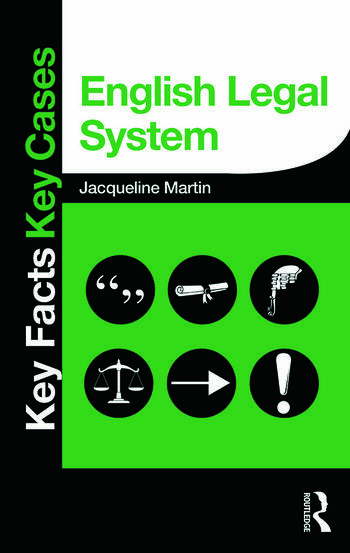 English Legal System book cover