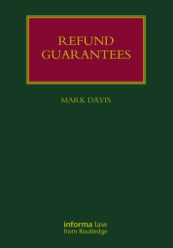 Refund Guarantees book cover
