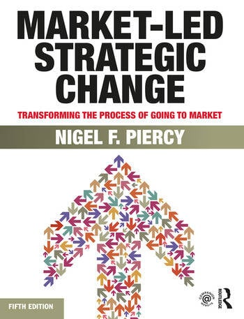 Market-Led Strategic Change Transforming the process of going to market book cover