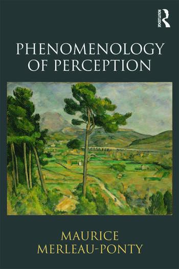 Phenomenology of Perception book cover
