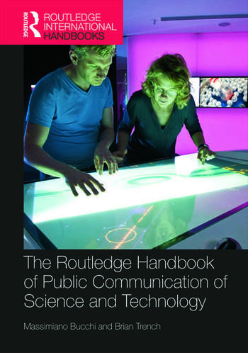 Routledge Handbook of Public Communication of Science and Technology Second edition book cover