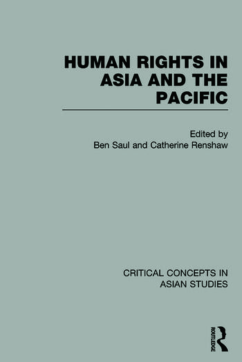 Human Rights in Asia and the Pacific book cover