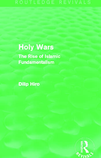 Holy Wars (Routledge Revivals) The Rise of Islamic Fundamentalism book cover
