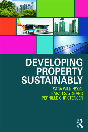 Developing Property Sustainably book cover