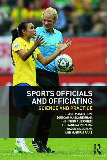 Sports Officials and Officiating Science and Practice book cover